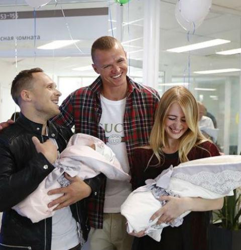 Дмитрий решил поздравит новоиспеченных родителей