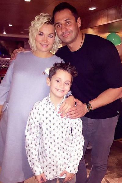 У пары уже подрастает 12-летний сын Богдан