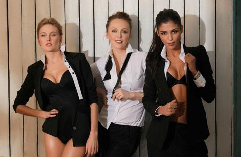 Новый состав «ВИА Гры»: Санта Димопулос, Ева Бушмина и Альбина Джанабаева