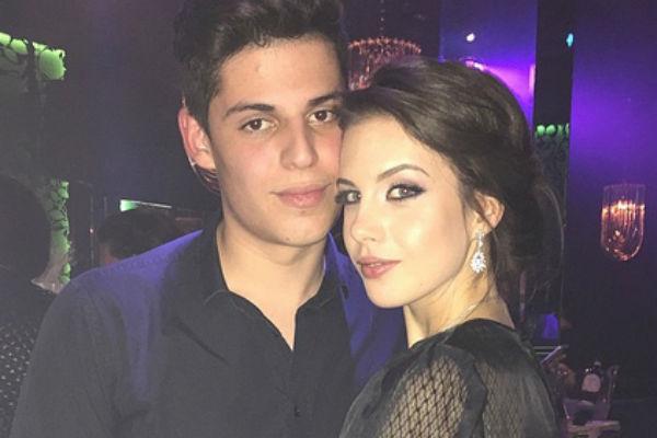Михаил с возлюбленной Дианой