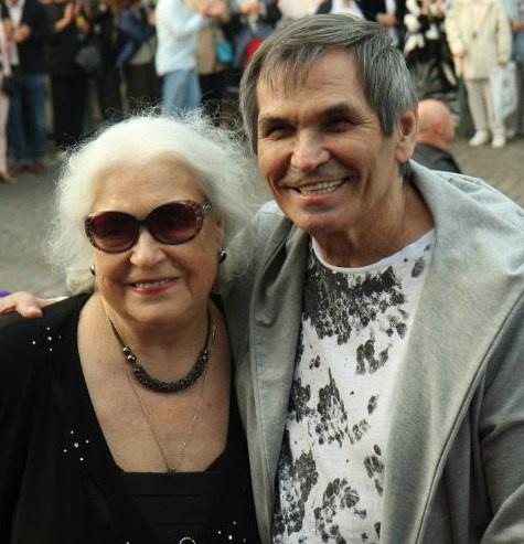 Бари Алибасов и Лидия Федосеева-Шукшина