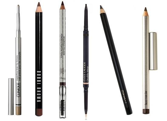 Карандаши для бровей MAC, Laura Mercier, Estee Lauder, Dior, Bobbi brown, Clinique.