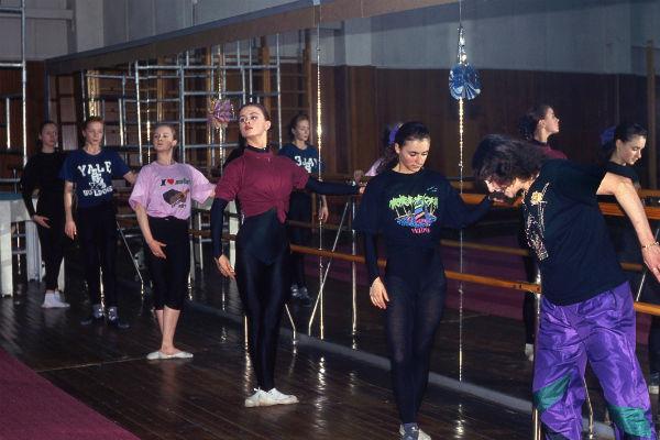 В годы учебы Анна (вторая справа) все время тренировалась и не ходила на вечеринки
