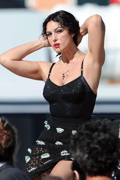 Моника Беллуччи в рекламной кампании Dolce & Gabbana