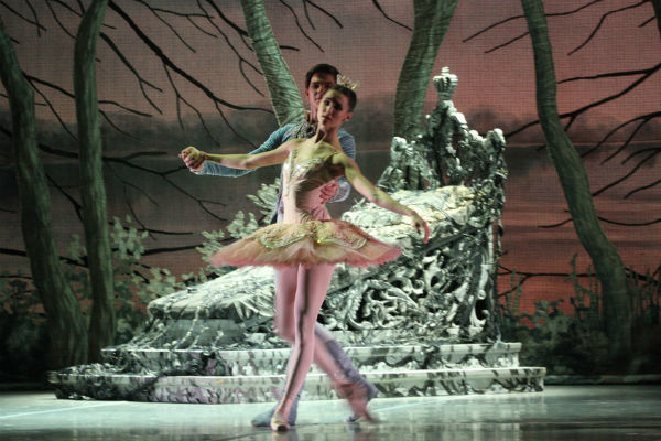 Постановка балета «Спящая красавица» в Михайловском театре