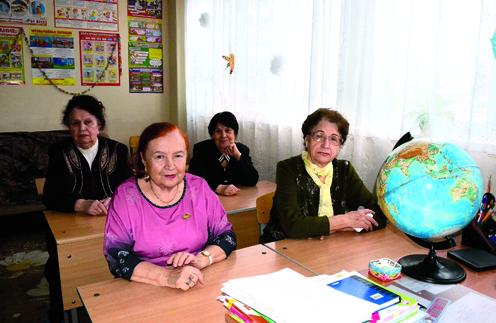 Маргарита Кошелева, Лидия Колесникова, Нина Тепаева и Валентина Анисимова