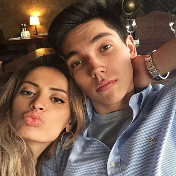 Ренард Сафин с женой Залиной