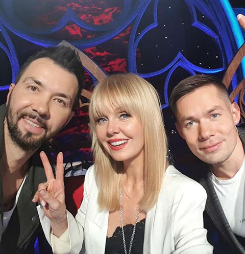 Денис Клявер, Валерия и Стас Пьеха