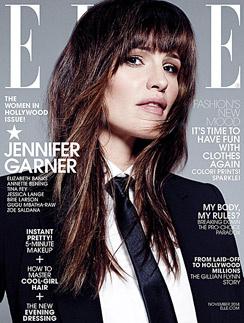 Дженифер Гарнер на обложке Elle