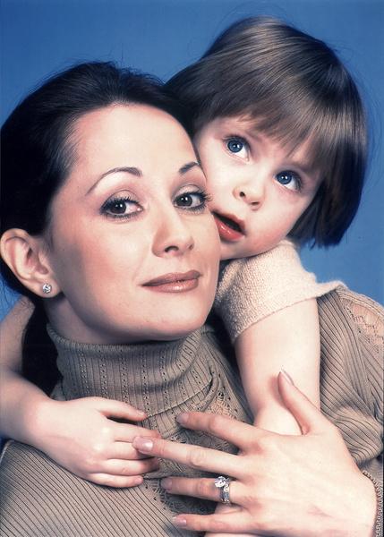 После рождения дочери Ольга Кабо оставила кинематограф на несколько лет