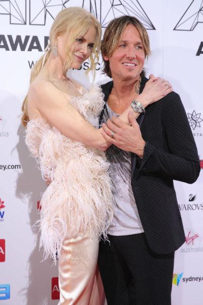 Николь Кидман и Кит Урбан женаты уже 12 лет