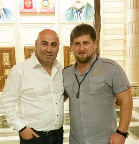 Иосиф Пригожин, Рамзан Кадыров