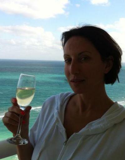 Алика Смехова проводит каникулы в Майами