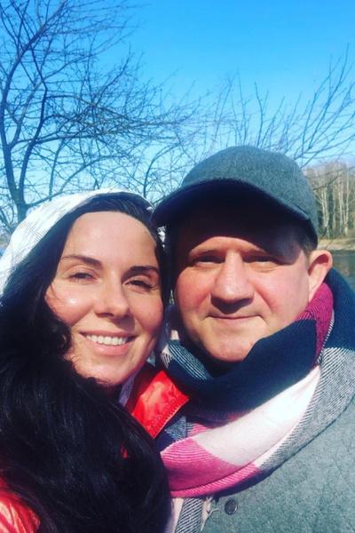 Со второй супругой Еленой Грук-Черновой Саша познакомился на съемках фильма