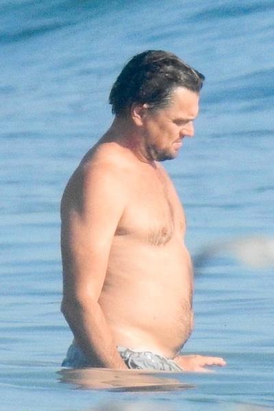 Ди Каприо заметно набрал вес