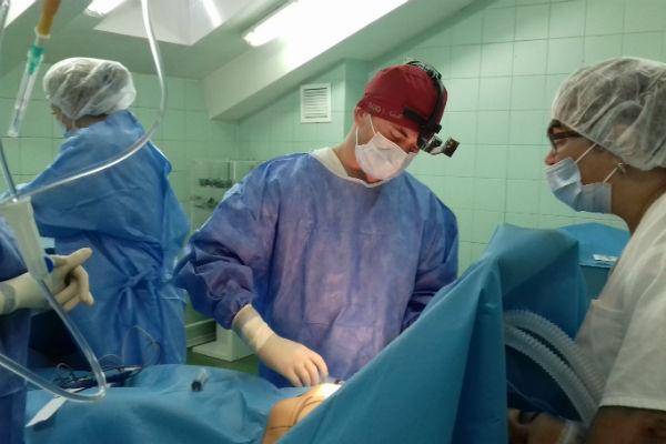 Операция прошла удачно, без каких-либо осложнений