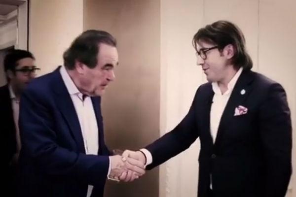 Андрей Малахов встретился с Оливером Стоуном