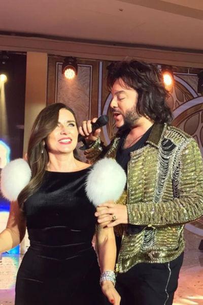 Филипп Киркоров также спел для Ольги несколько своих хитов