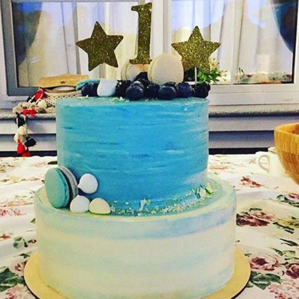 Торт напомнил гостям о ласковом море