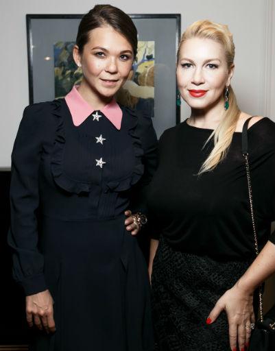 Марина Трояновская и Екатерина Одинцова
