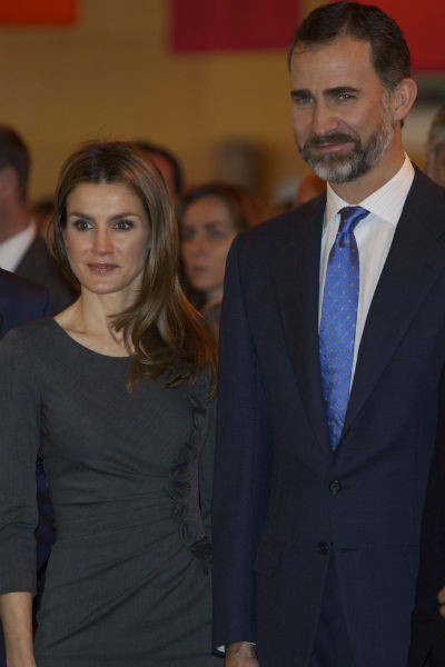 Летисия Ортис и Филипп VI