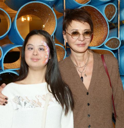 Ирина Хакамада с дочерью