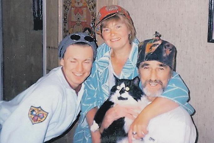 Игорь с родителями