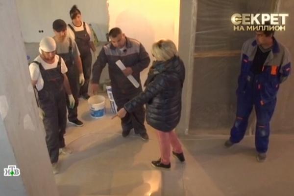 Теперь Татьяна Веденеева сама контролирует рабочих
