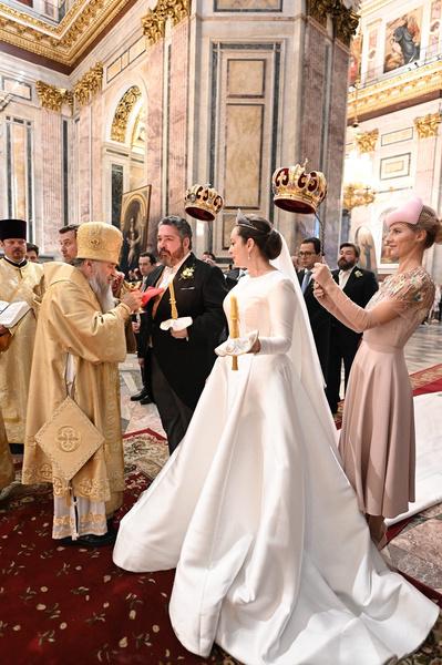 Супруги уже оформили отношения в Москве