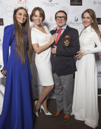 Супруги Дибровы с организаторами мероприятия