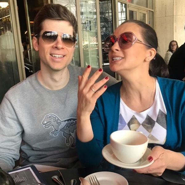 Екатерина Стриженова и ее зять Петр