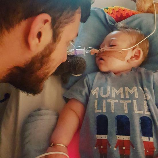 С самого рождения малыш страдал от синдрома митохондриального истощения ДНК