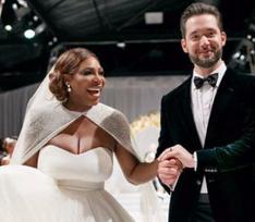 Серена Уильямс с размахом отпраздновала свадьбу