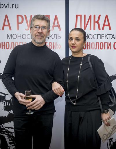 Валерий Яременко с супругой Анной Сухачевой