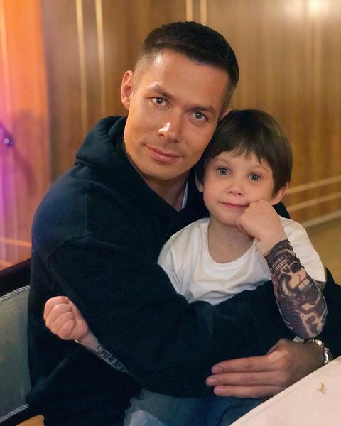 Стас Пьеха с сыном Петей