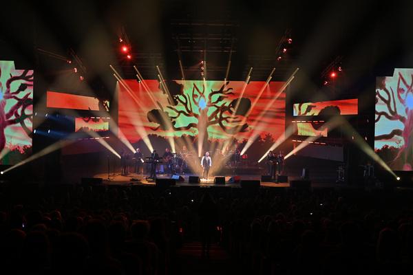 Выступление Леонида Агутина получилось одним из самых ярких