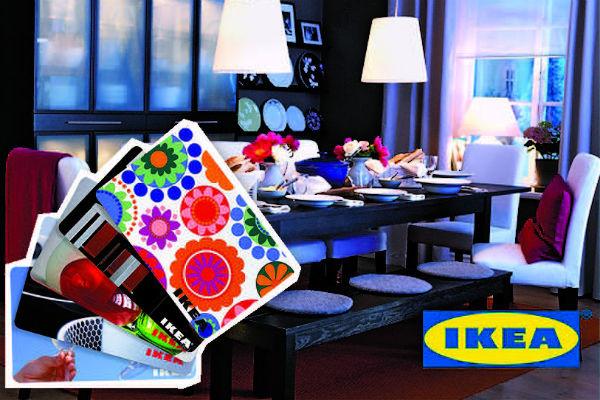 Выиграйте подарочную карту на сумму 10 000 рублей от «Икеа»