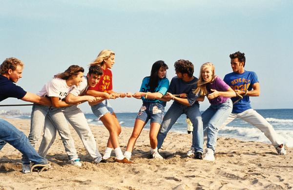 Кадр из сериала «Беверли-Хиллз 90210»