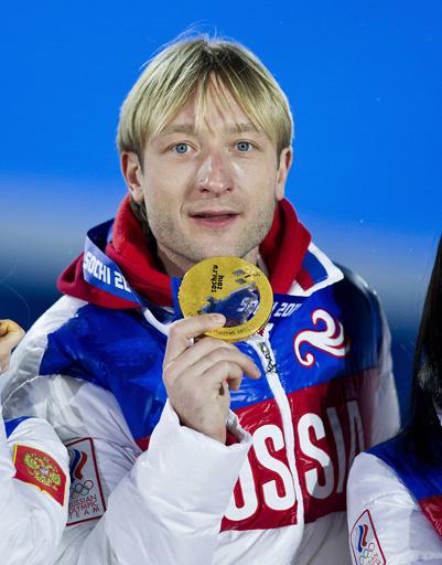 Евгений Плющенко, золото в командном соревновании