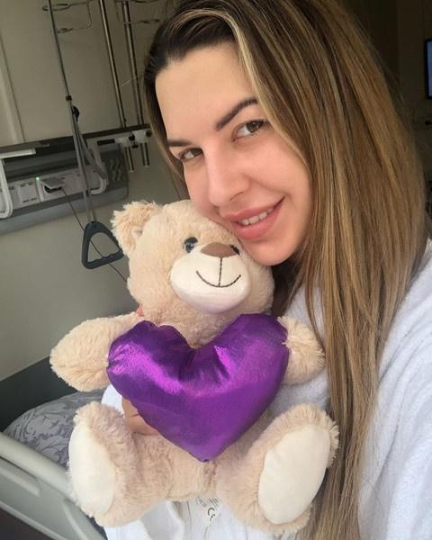 Донцова недолго пробыла в госпитале