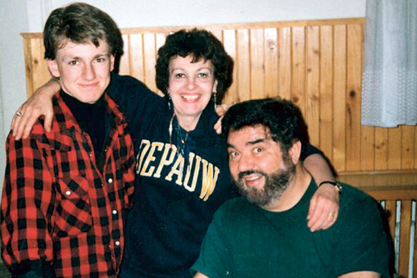 Игорь Сорин с родителями