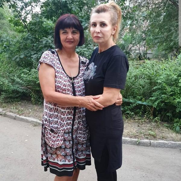 Ирина и ее сестра Галина