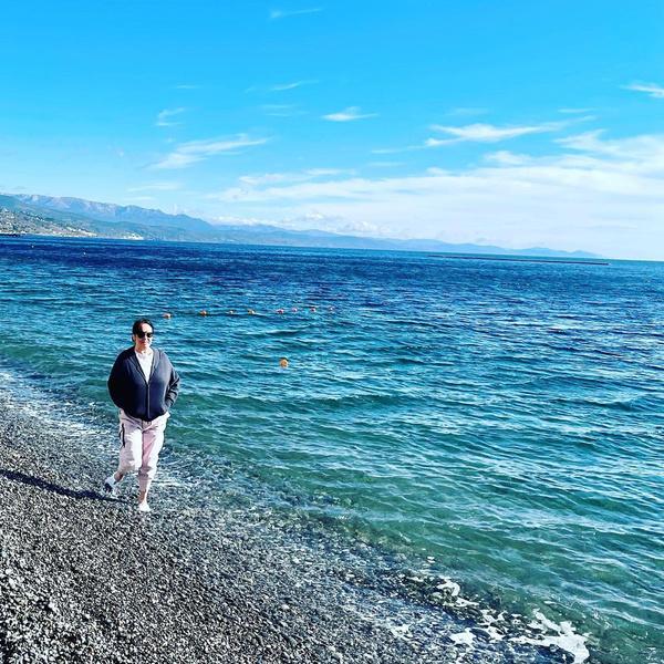 Несколько дней назад Гузеева наслаждалась отдыхом в Крыму
