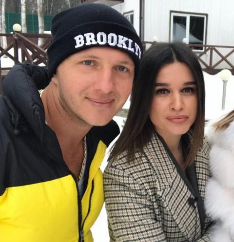 Илья Яббаров с Ксенией Бородиной