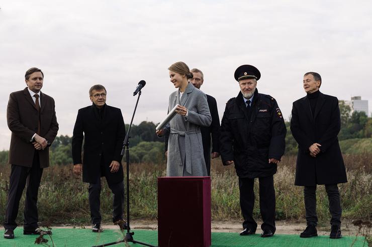 Одну из главных ролей в сериале сыграла Ксения Собчак