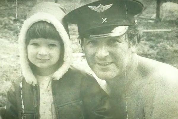 Александр Белявский с сыном Андреем