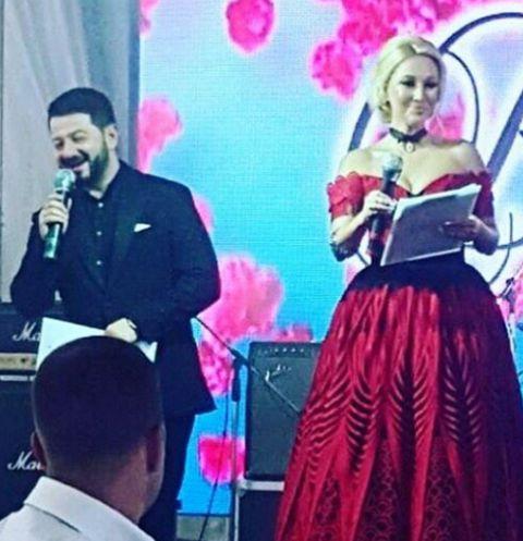 Лера Кудрявцева и Михаил Галустян