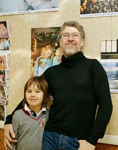 Валерий Яременко с сыном