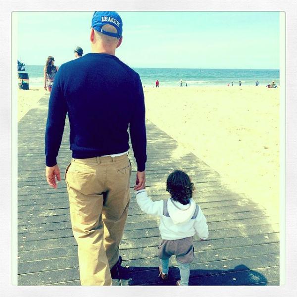 Брюс Уиллис с дочкой Мейбл Рэй