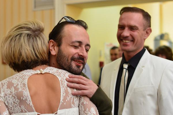 Поздравить жениха и невесту приехал Илья Авербух
